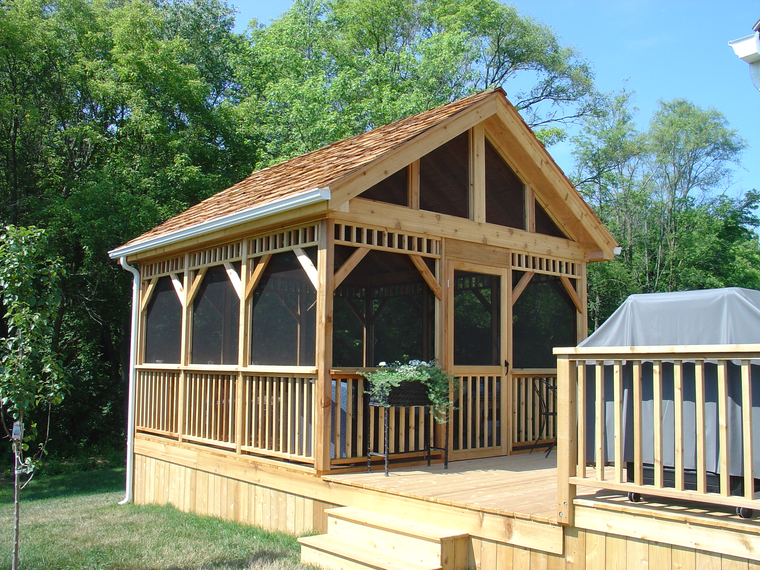 Exterior Remodeling Gazebos And Screened Porches