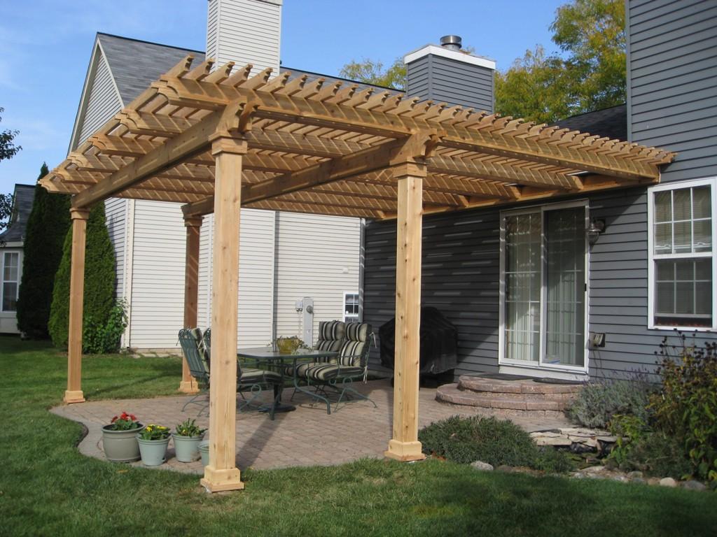 Brick Paver Patios, Pergolas And Deck Builders Contractors