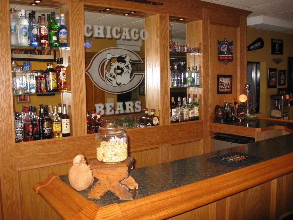 Custom Built Home Bars And: Custom Built Bars And Finished Basements, Basement