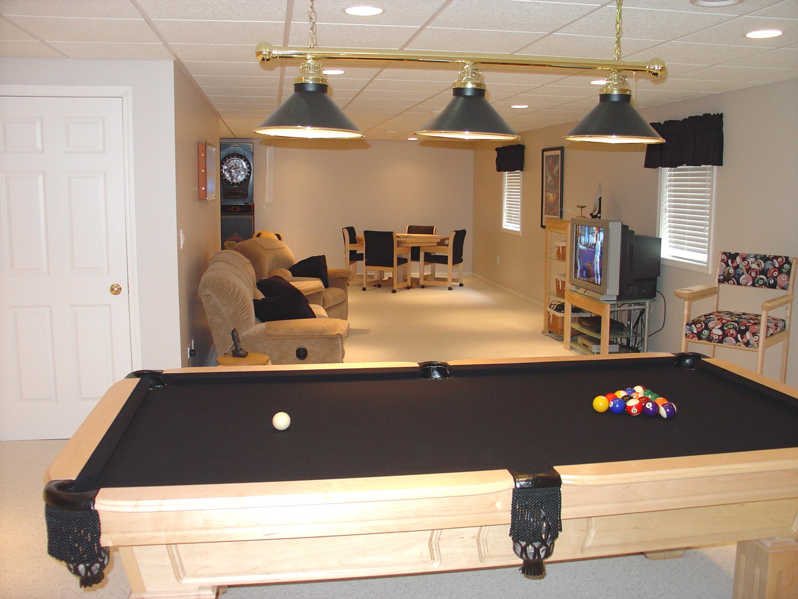 Finished basements basement remodeling illinois outback builders algonquin il - Designer basements ...