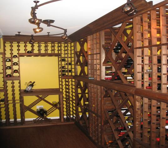 Basement Wine Cellar Climate Controlled Elgin IL