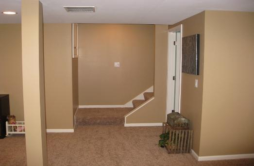Remodeled Basement With Bath