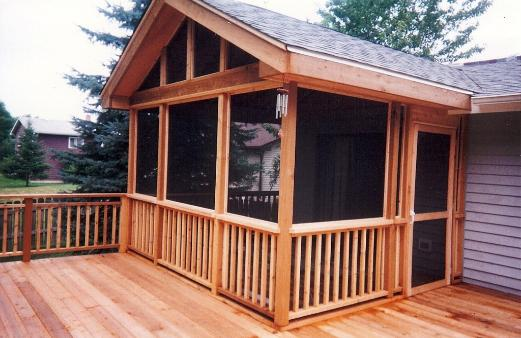 Cedar Screened Room McHenry IL