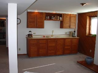 Custom Wet Bar Finished Basement Algonquin IL