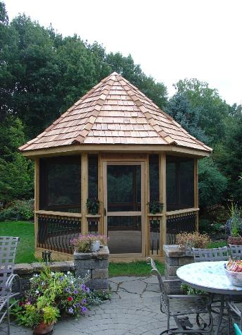 Custom Cedar Gazebo Lemont IL