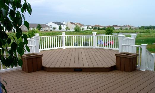 Trex Deck and Planter Boxes