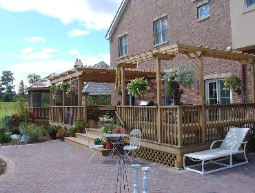 Cedar Deck, Pergola and Gazebo
