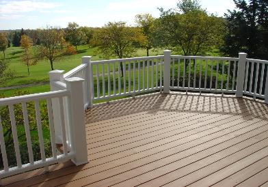 Trex Deck and Railing Lake in the Hills IL