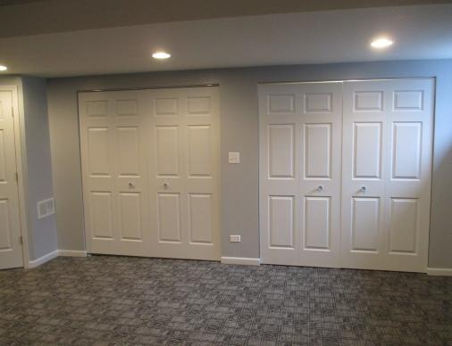 Basement Finishing with Closets Algonquin IL