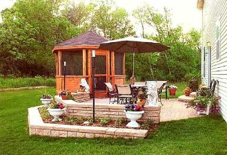 Gazebo and Paver Patio
