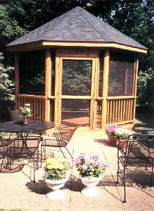 Gazebo Crystal Lake