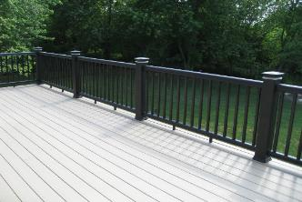 Timbertech Railing with Lights St Charles IL