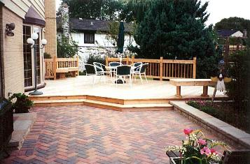 Deck and patio combo Arllington Hts